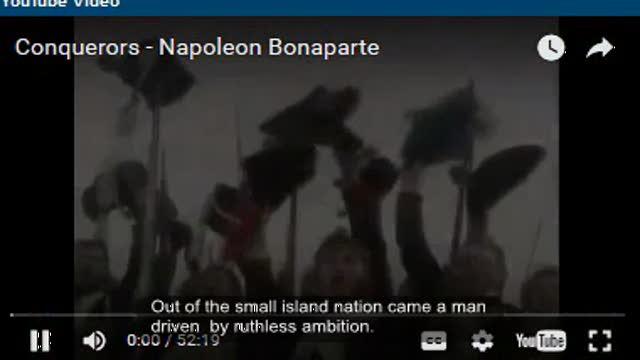 Conquerors - Napoleon Bonaparte part 1