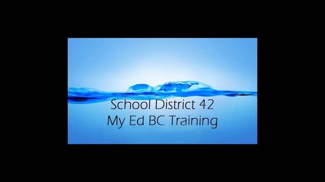 MyEdBC - Students Out Database