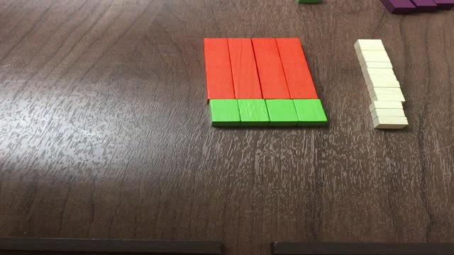 Cuisenaire Rods Station 4