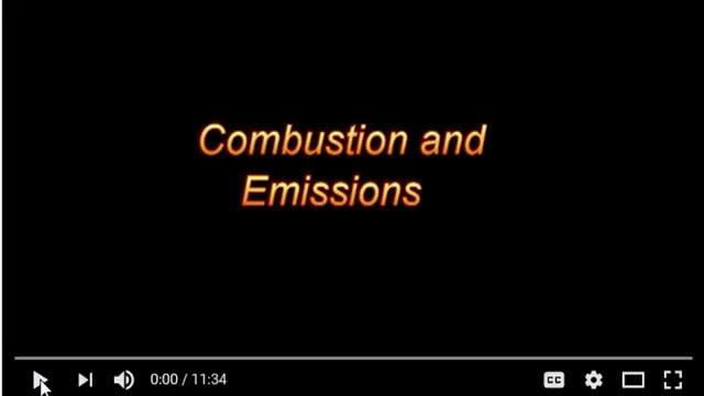 Combustion Emissions