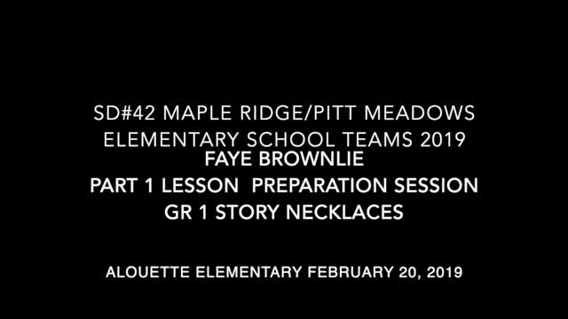 "School Teams Alouette Elementary ""The Grab Bag"" Faye Brownlie Feb. 20, 2018"