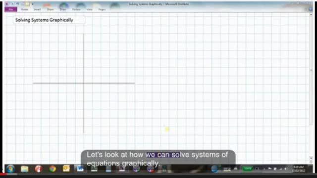 PreCalc11: LG15- Solving Quadratic Systems Graphically