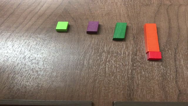 Cuisenaire Rods Station 6